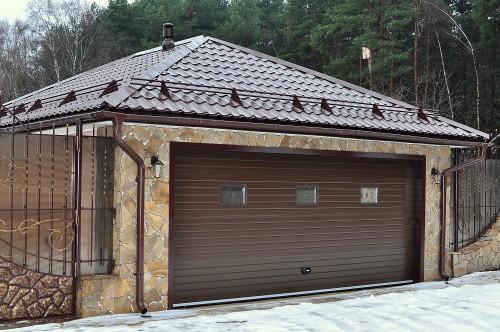 Стены и ворота для гаража