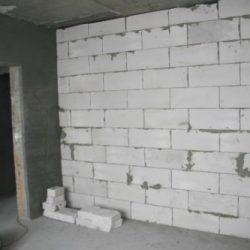 Толщина стен из газоблоков