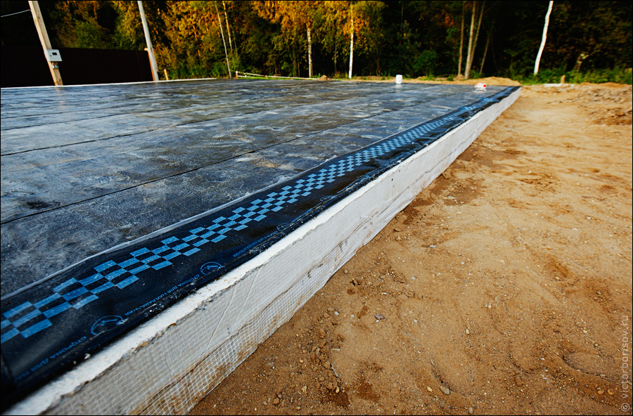 Лаги бетонная деревянные плита гидроизоляция