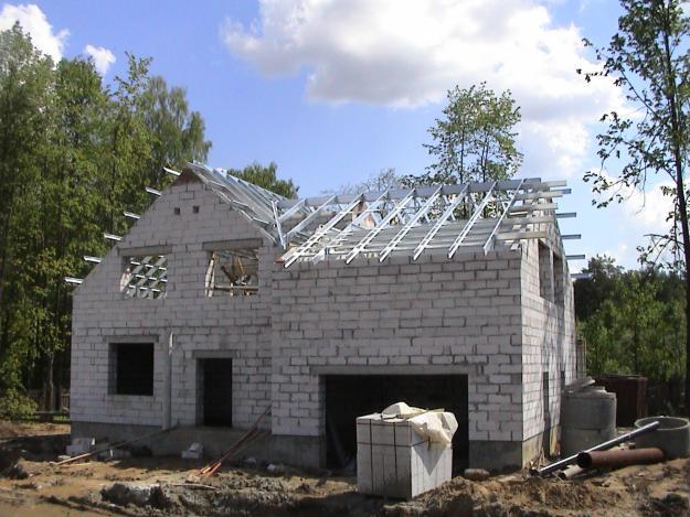 Строим дома своими руками из газоблока