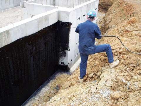 фото гидроизоляции стен