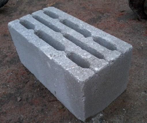 Фундаментный шлакоблок