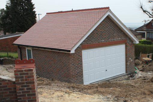 крыша на гараж