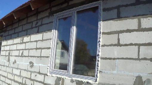 окна в доме из газобетона