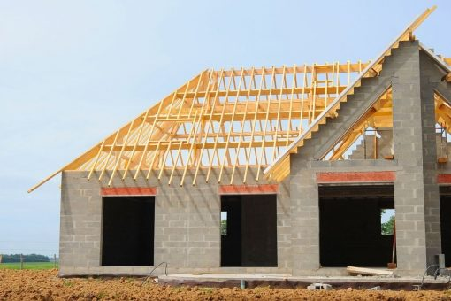 крыша дома из газоблоков