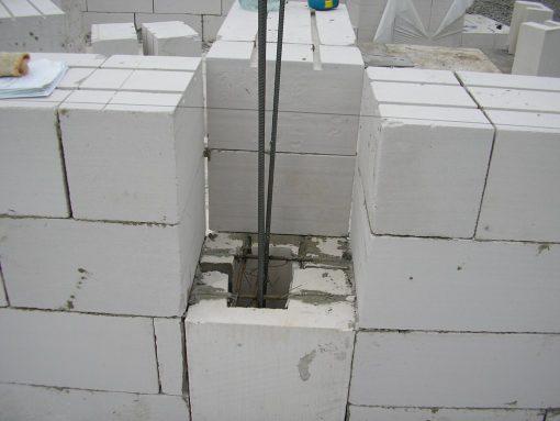 Вертикальное армирование стен